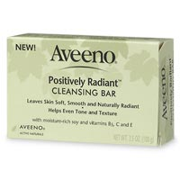 Aveeno Positively Radiant Cleansing Bar