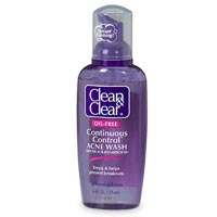 Clean & Clear Continuous Control Acne Wash