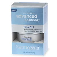Neutragena facial peel