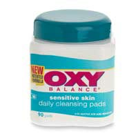 Oxy Balance Sensitive Skin Daily Cleansing Pads