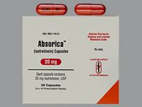Absorica Isotretinoin
