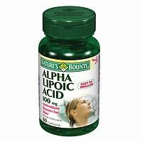 Nature's Bounty Alpha Lipoic Acid