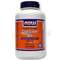 Now Double Strength Cod Liver Oil