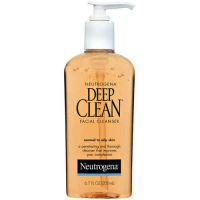 Neutrogena Deep Clean Facial Cleanser, For Normal to Oily Skin