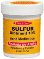 De La Cruz Sulfur Ointment Acne Medication