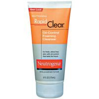 Neutrogena Rapid Clear Oil Eliminating Foaming Cleanser