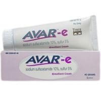 Avar-e Sodium Sulfacetamide (10%) and Sulfur (5%) Emollient Cream