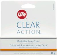 Life Brand Clear Action Medicated Acne Cream (Benzoyl Peroxide - 5%)