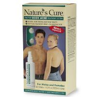 Nature's Cure Two-Part Body Acne Treatment for Males and Females