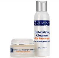 Dermajuv Detoxifying Cleanser with Resveratrol for Acne Prone Skin