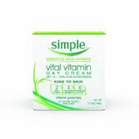 Simple Vital Vitamin Day Cream, SPF 15