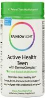 Rainbow Light Active Health Teen Multivitamin with DermaComplex