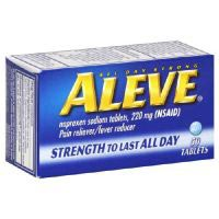 Aleve Naproxen Sodium