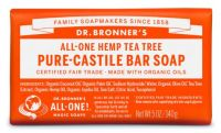 Dr. Bronner's All-One Hemp Tea Tree Pure-Castile Bar Soap