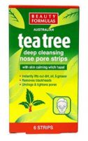 Beauty Formulas Australian Tea Tree Deep Cleansing Nose Pore Strips