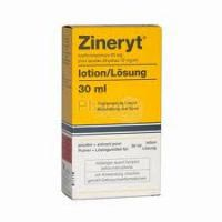 Zineryt Cutaneous (Erythromycin 40% and Zinc Acetate 12%) Lotion
