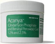 Acanya Clindamycin Phosphate (1.2%) and Benzoyl Peroxide (2.5%) Gel