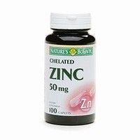 Nature's Bounty Chelated Zinc 50mg
