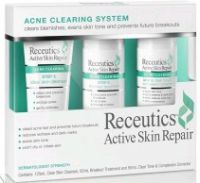 Receutics Active Skin Repair: 3 Step Acne Clearing System