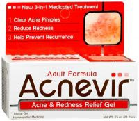 Acnevir Adult Formula Acne and Redness Relief Gel