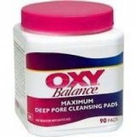 Oxy Balance Maximum Deep Pore Acne Cleansing Pads