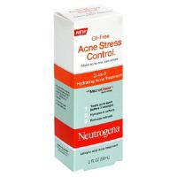 Neutrogena Oil-Free Oil-Free Acne Stress Control, 3-in-1 Hydrating Acne Treatment