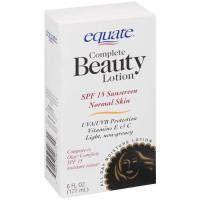 Equate Complete Beauty Lotion SPF15