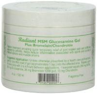 Natural Radiance MSM Glucosamine Gel Plus Bromelain and Chondroitin