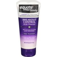 Equate Breakout Control Acne Cleanser