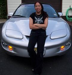 Me and my car.