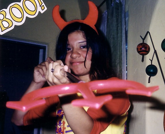 Retouch picture of Halloween 2001!!