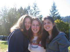 Me and my friends: me, tal, nathalie