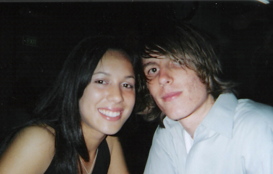 Me and girlfriend at the formal Dec 2004