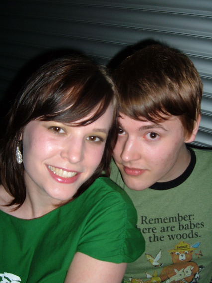 Me and my younger brother (april 2005)