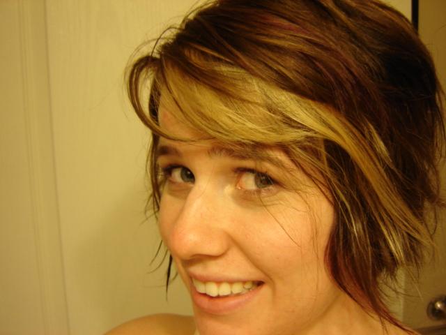 Got a hair cut, and still acne free from my regimen!