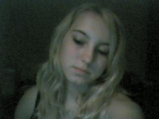 me b4 treatment wiv ma blonde hair