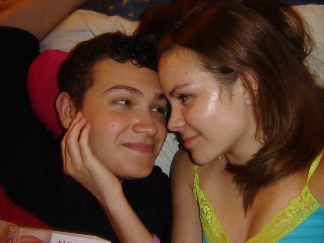my amazing boyfriend and me<3 July 05' no makeup :o)