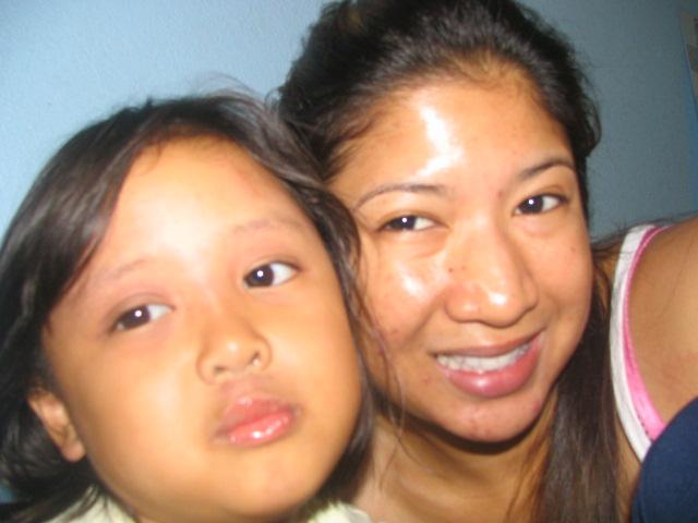 My baby cousin & I (w/no make up) 10/09/05