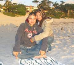 *My CUTE boyfriend & I @ Carmel-by-the-Sea 2005*