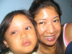 My baby cousin & I (w/no make up) 10/09/05