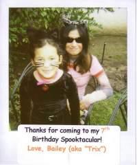 Halloween Birthday Party!