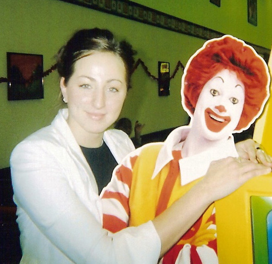 i think Ronald is the most popular with the ladies..
