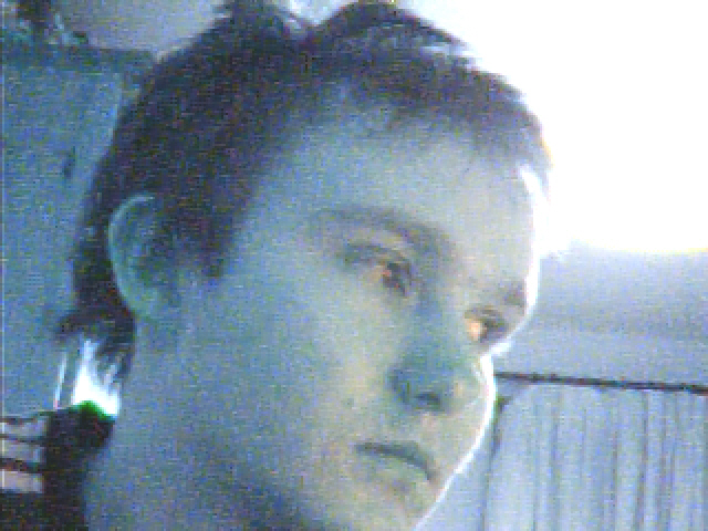 ahh webcam, no spots at all :D gotta love the cams!