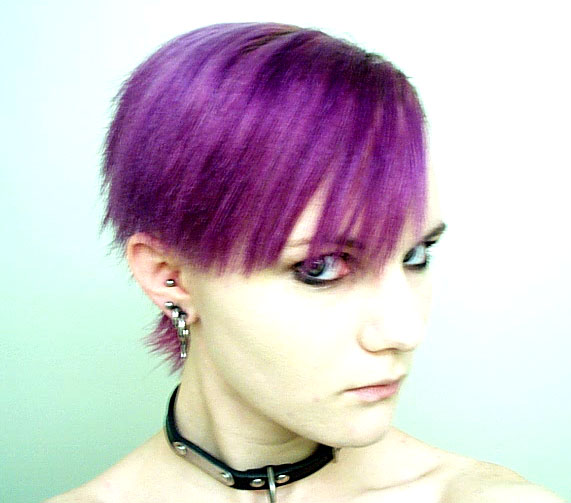 I miss my purple mohawk