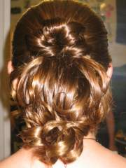 Military ball - up-do