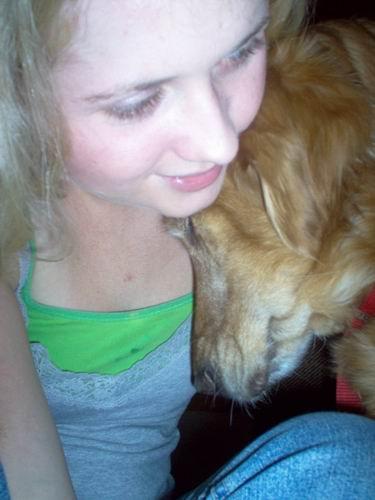 My sweet doggy.