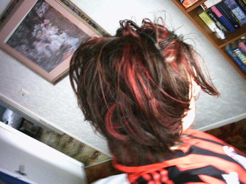 Same hair, different angle