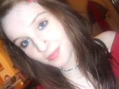 Me looking a bit odd. makeup.