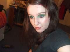 Crazay green eyes