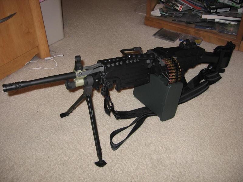 My m249 SAW